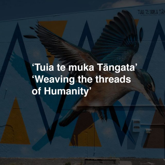 Street Prints Manaia 2019 - Whangarei . Theme: 'Tuia te muka Tāngata' 'Weaving the threads of Humanity' . Kotahitanga - unity, togetherness, solidarity, collective action. Our fourth International Street Art Festival in Whangarei shared the theme of weaving together the threads which make us one. Today, we stand with you. . Artists Involved; Fin DAC - Dublin / Ireland @findac Millo - Rome / Italy @_millo_  Paola Delfin - Mexico City / Mexico @paola_delfin  Mateus Bailon - Sao Paolo / Brazil @mateusbailon  Dourone - Madrid / Spain @dourone  Lisa King - Adelaide / Australia @artoflisaking  Amanda Valdes - Miami / USA @amandalvaldes  Askew One - New York / Auckland @askewone Charles Williams - Auckland / NZ @charles_phat1tmd  Janine Williams - Auckland / NZ @janine_divatmd  Bryce Williams - Whangarei / NZ @mrbryce13  Swiftmantis - Palmerston North / NZ @swiftmantis  Ephraim Russell - Palmerston North / NZ @ephraimrussell  Mike Tupaea - Whangarei / NZ @whekudesign  Tawck - Whangarei / NZ @tawck_gbak  Gina Kiel - Wellington / NZ @ginakiel_  Melinda Butt - Whangarei / NZ @min_butt . #streetprints #streetprintsmanaia #streetart #manaia #kotahitanga #unity #together #solidarity #action #weaving #threads #humanity #westandwithyou
