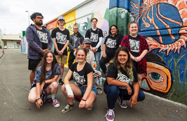 Street Prints Youth Mentoring Program 🙌🏽 . We were blessed to collaborate with Youth Space Palmerston North @pnyouthspace @pncitycouncil on a Youth Mentoring Program in January 2020 . Thank you to all the Youth involved and supported this kaupapa @shia_labeef @cat_scabs @e3hart @mikah_batachel @sam.malfoy @rising_above_stars @jmescarr @jasmine_pai_brah - Tag anyone else we missed 🙏🏽 . @findac @resenecolour @thelionfoundationnz @ucolnz @paint_nz @r_em_y__ @keeg_and_ken . 📸 by @mira_a_mire . #streetprints #streetprintspapaioea #streetart #streetartnewzealand #youth #youthmentoring #palmerstonnorth #palmy #art #mural #publicart #rangatahi